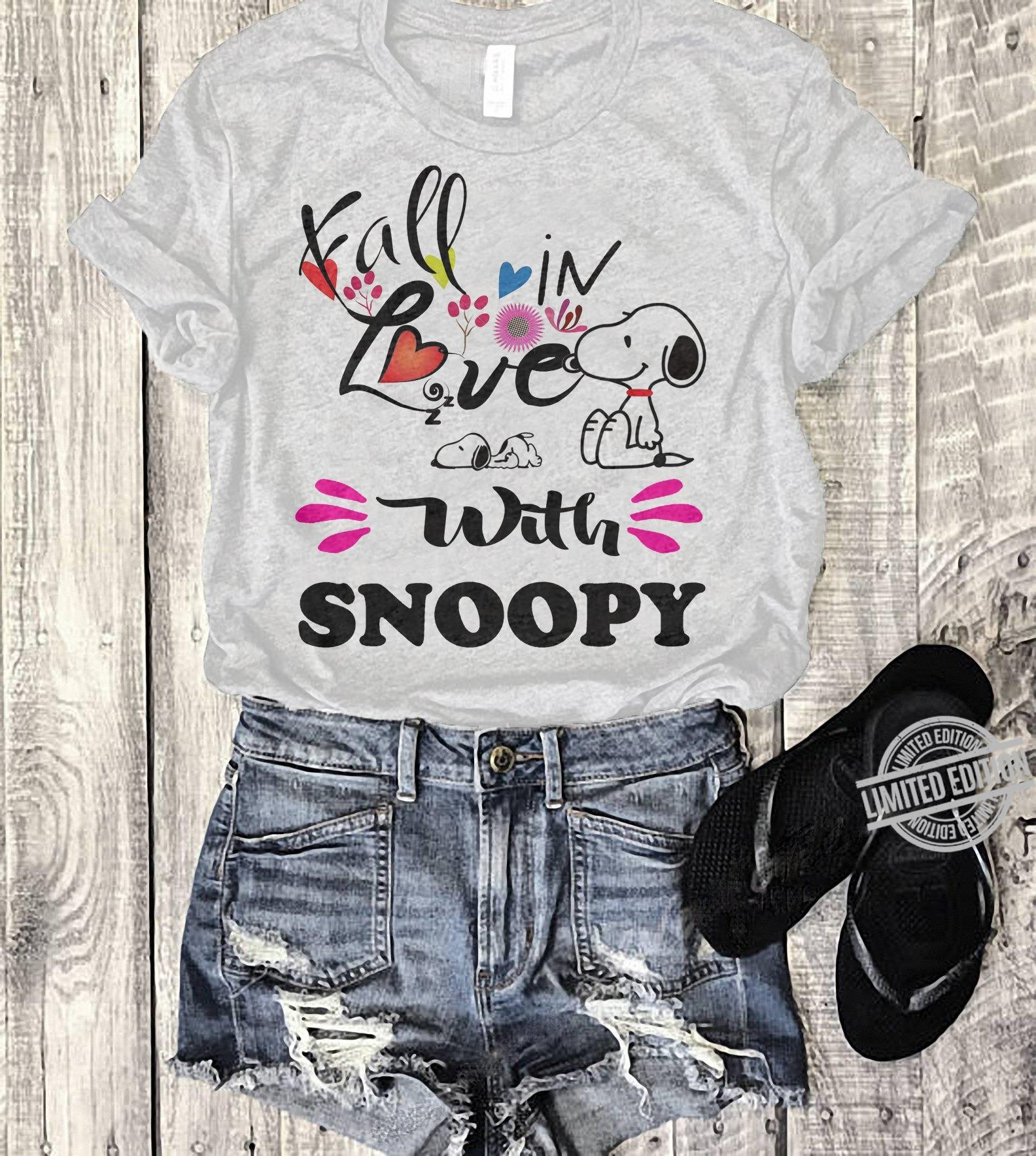 I All In Love With Snoopy Shirt