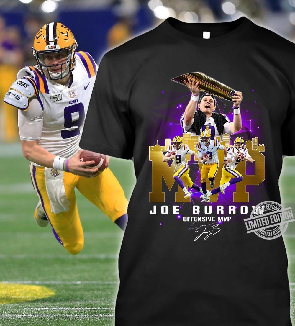 Joe Burrow Offensive MVP Signature Shirt