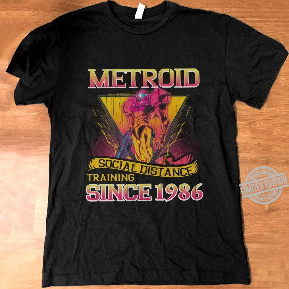 Metroid Social Distance Training Since 1986 Shirt