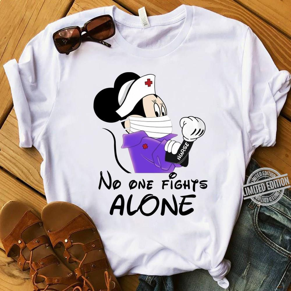Mickey No One Fights Alone Shirt