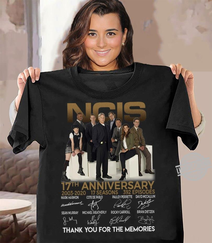 NCIS 17th Anniversary Thank You For The Memories Shirt