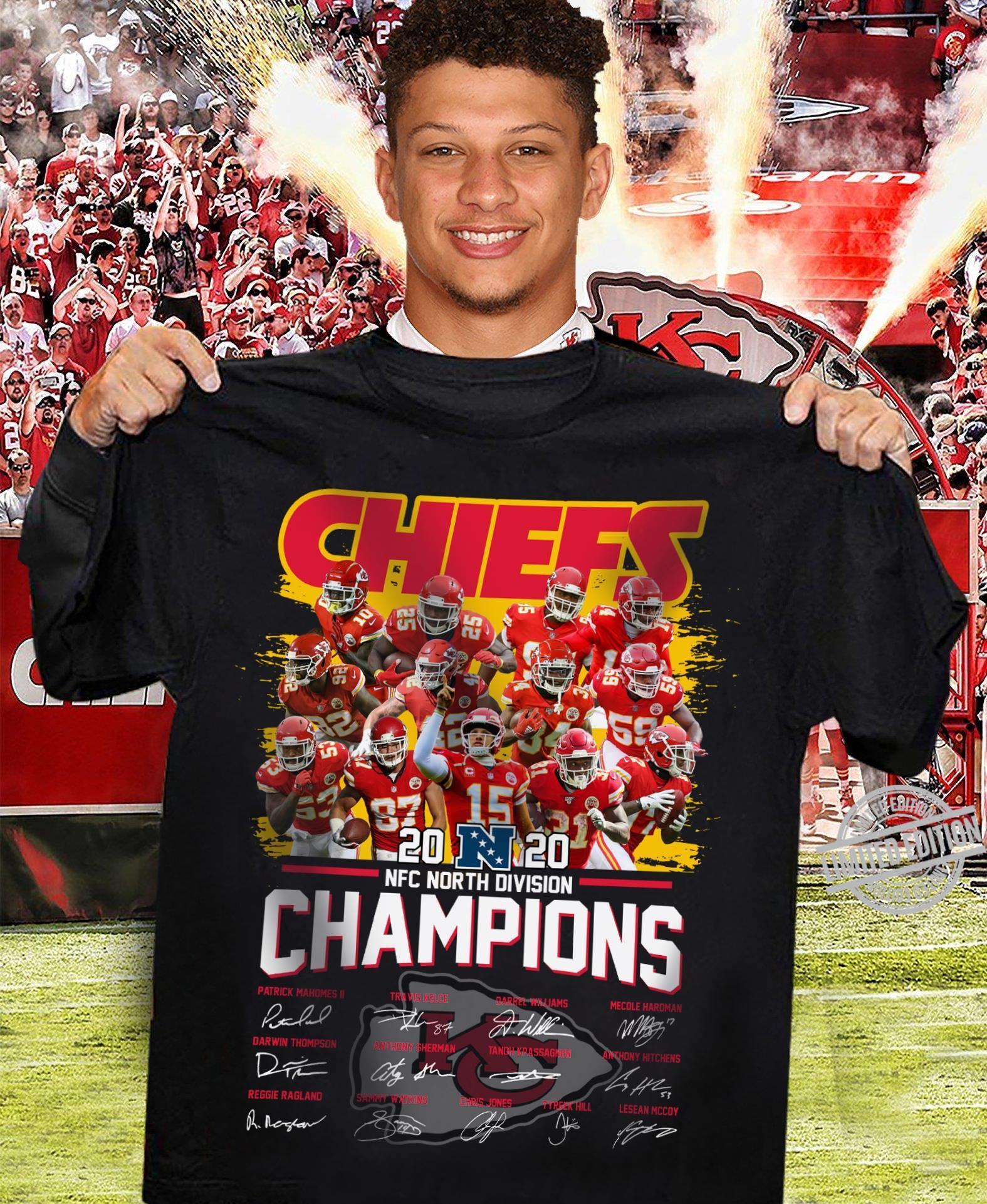 NFC North Divsion Champions Shirt