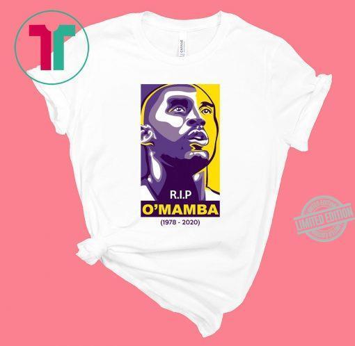 R. I. P O'mamba 1978-2020 Shirt